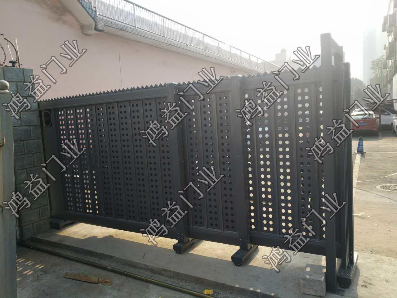 成都监狱2.1米封板直线门
