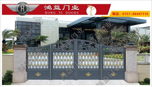 铝艺别墅折叠门为什么都要进行喷涂