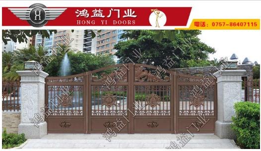 铝艺庭院折叠门需注意的问题