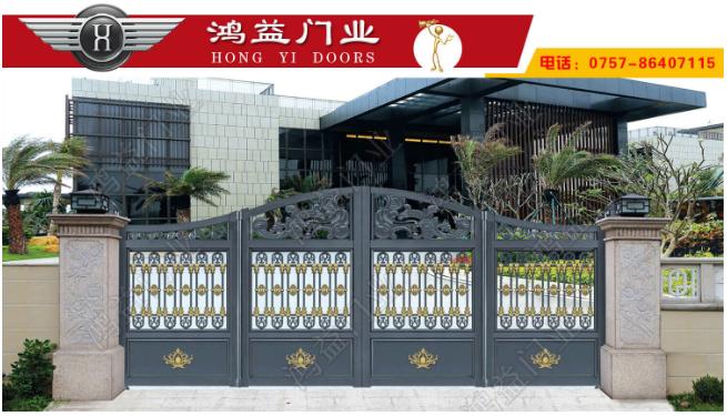 铝艺别墅折叠门在使用的时候要注意什么