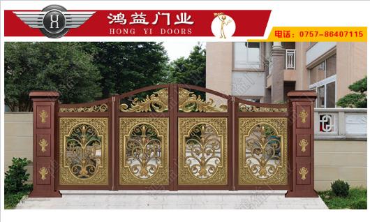 铝艺庭院门在生产中应当注重几大细节