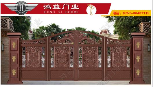 铝艺庭院折叠门之悬浮折叠门的优点