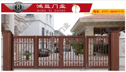别墅庭院门厂家讲铝艺大门有哪些需要注意的细节?