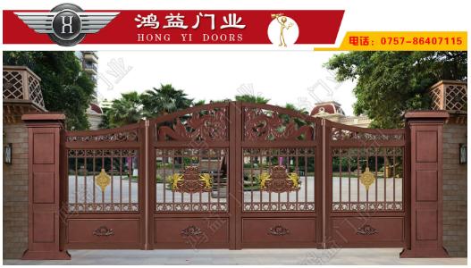 别墅折叠门厂家介绍别墅铝艺悬浮折叠大门的优点