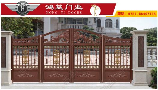 介绍铝艺庭院门型材选择的几种方法