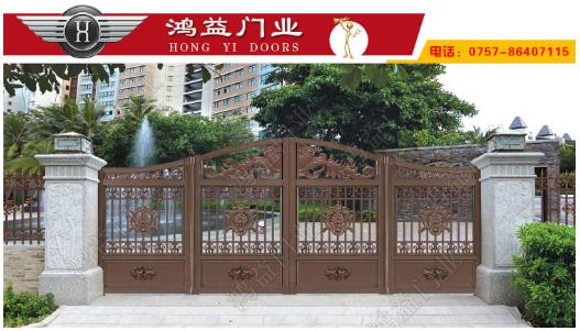 铝艺折叠门的特点和选购方式