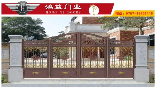 铝艺悬浮折叠门门排的安装步骤